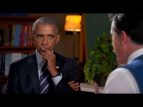 Watch Barack Obama Hilariously Receive Resume Help From U0027Late Showu0027 Host  Stephen Colbert!  Barack Obama Resume