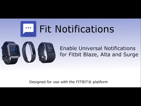 Fit Notifications For Fitbit Apps On Google Play