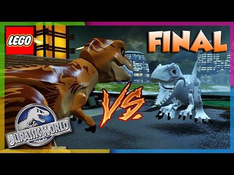 LEGO Jurassic World – T-Rex vs Indominus Rex.