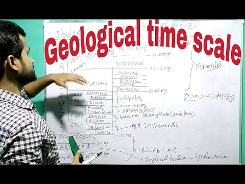 Geography- 02, geological time scale