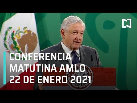 Conferencia matutina AMLO / 22 de enero 2021