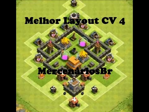 433 - Layout Cv 4 Clash Of Clans