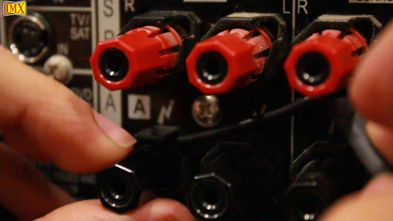 How To Connect Amplifier Speakers Using Y Connector Youtube Wiring Diagram For Speaker Wire Rca Adapter In A Car With 4
