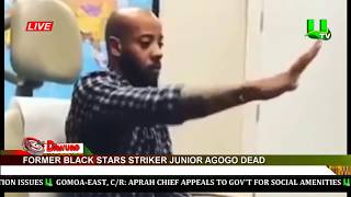 Former Ghana Striker Junior Agogo Is Dead