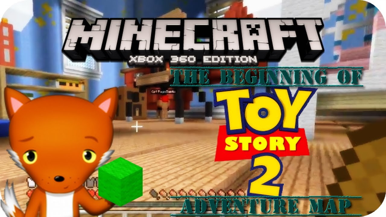 Minecraft Xbox 360 -Toy Story 2 Adventure Map Part1 - YouTube