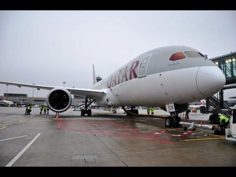 Qatar B787 Business Zurich to Doha / Flight Review #3 / The Way We Saw It