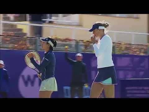 Hibino /Kalashnikova vs Babos /Hlavackova - Tashkent Open 2017