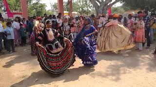 Pushkar fair | Group dance | Tribal girls | Rajasthan | Cultural festival |  2017 | India
