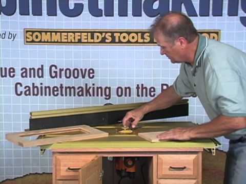 Sommerfeld's Tools for Wood - Shaker Raised Panels Made Easy with ...