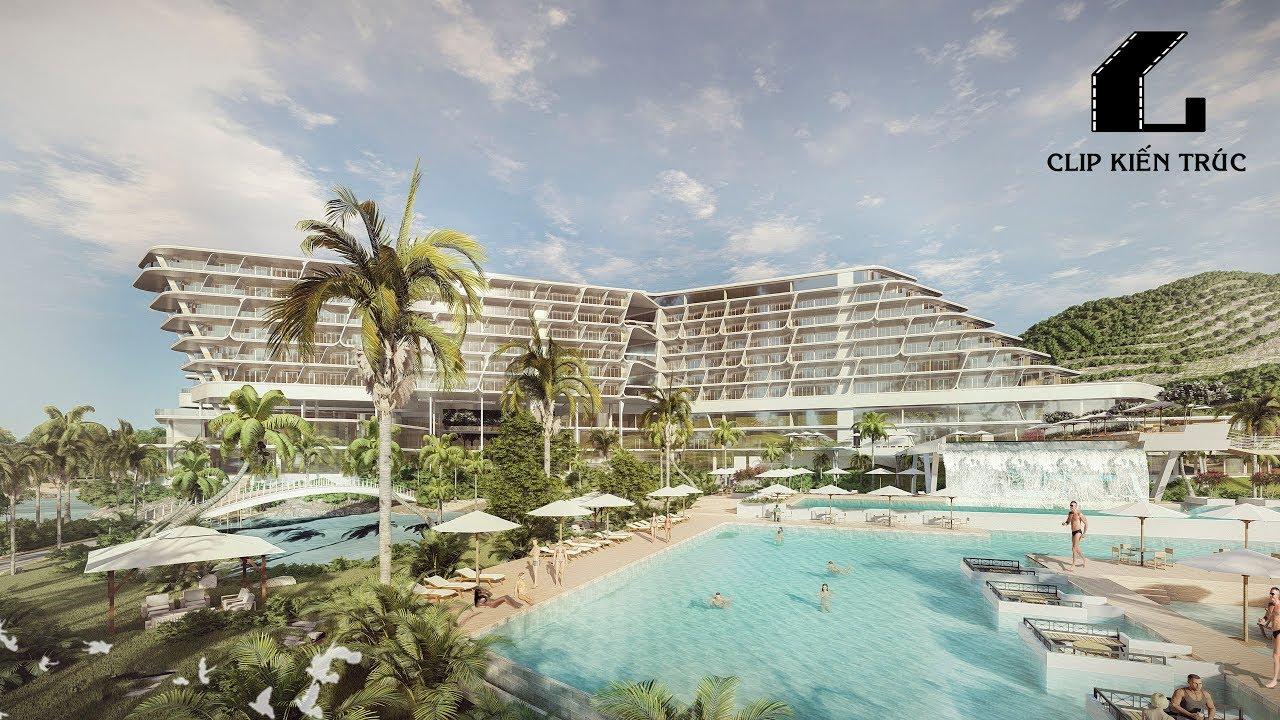 3D Architecture Video - Lumion 8Pro: Resort Nghỉ Dưỡng Bãi Tiên Nha Trang