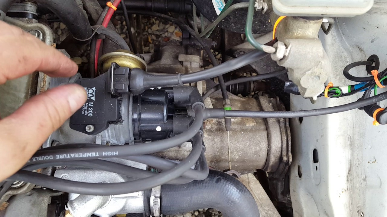 Escort Mk3 1 6 Cvh Lucas Distributor Upgrade Youtube