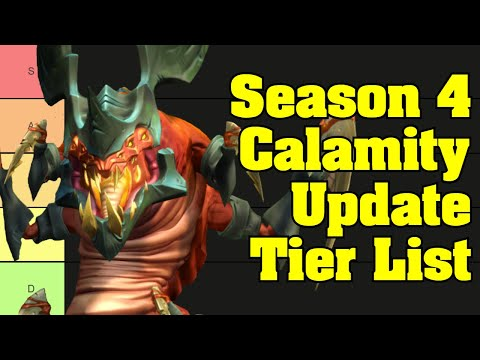 Making a Paladins Season 4 Tier List With Chat - Stream Highlights