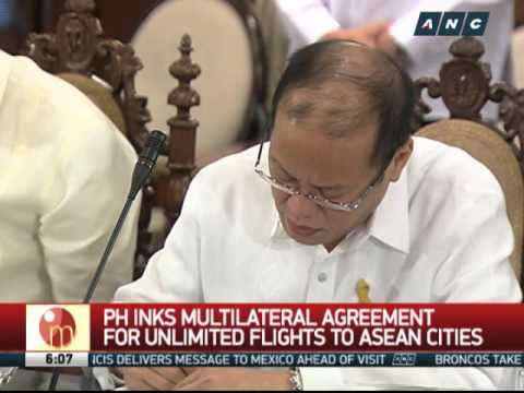 PH inks multilateral agreement for unlimited flights to ASEAN cities