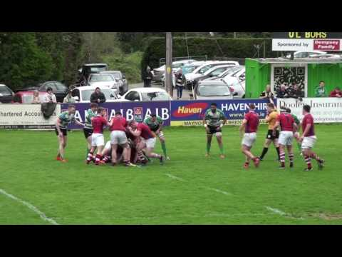 AIL 2016/17 Division 1B Promotion Playoff Naas RFC v UL Bohemian