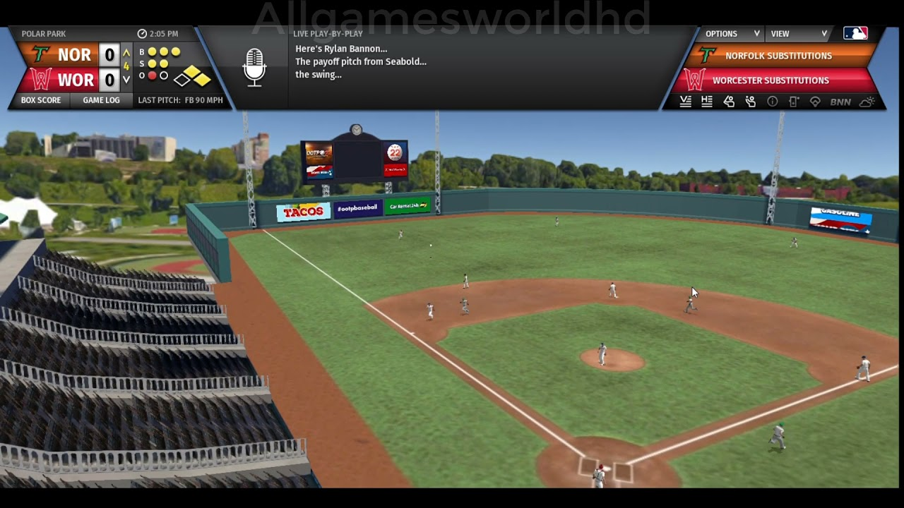 Out Of The Park Baseball 22 Gameplay (PC Game)