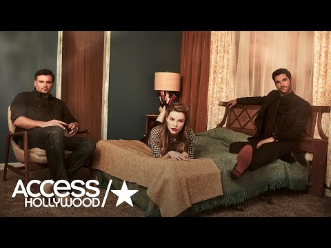 Tom Welling, Tom Ellis, & Lauren German On Their Love Triangle On 'Lucifer' | Access Hollywood