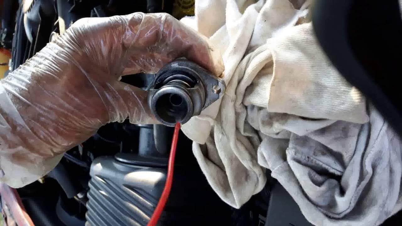 DIY how to replace IAC valve DTC code P0505 Chrysler Dodge