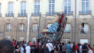 Royal de luxe nantes. .2014