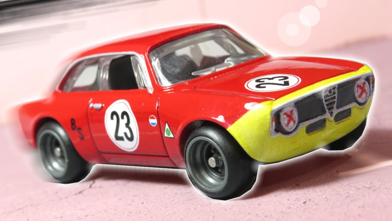 2020  Hot Wheels Premium Car Culture Door Slammers Alfa Romeo Giulia Sprint GTA