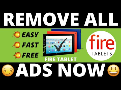 Remove All Amazon Fire Tablet Ads FREE (ALL DEVICES)