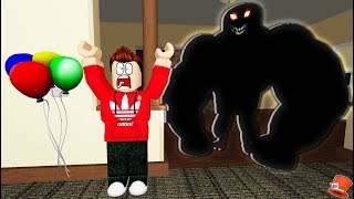 A Monster Broke into my HOUSE in Roblox!