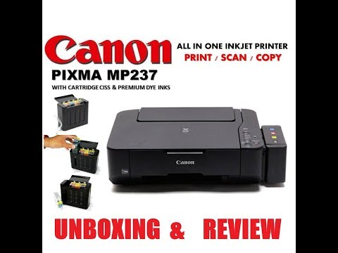 unboxing&review-canon-pixma-mp237-printer-with-scan-and-copy-demo