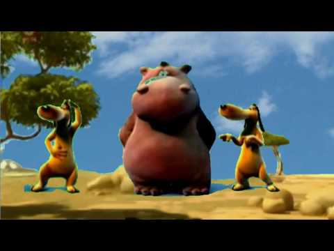 Happy Hippo  Banana Boat Song  (Harry Belafonte)