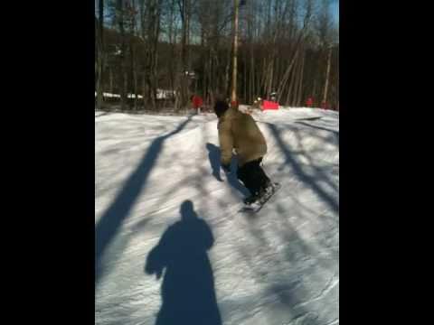 Matt Strickland Snowboarding
