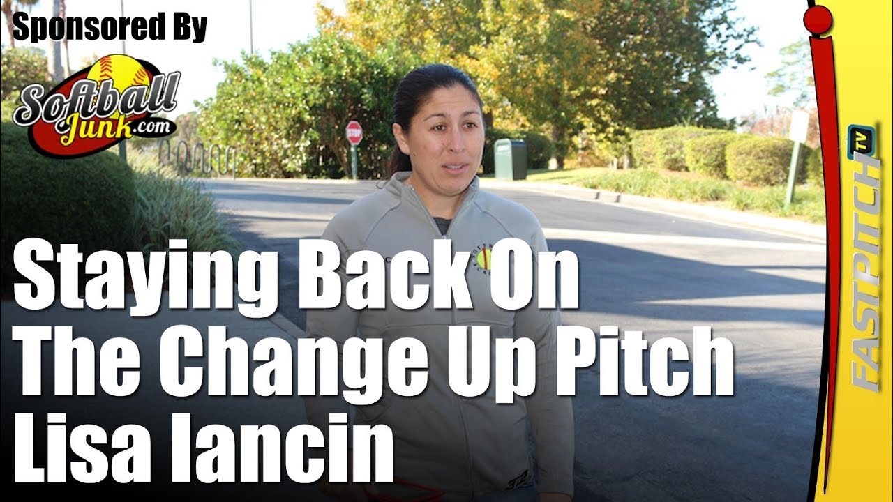 Softball Drills & Tips: Stay Back On The Change Up Pitch | Fastpitch TV