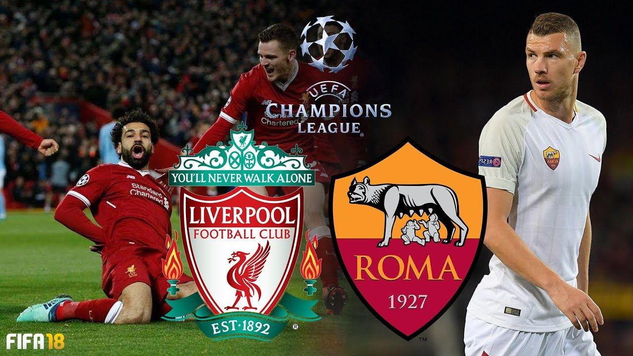 brand new 03312 ce3b3 Liverpool vs AS Roma | UEFA Champions League 2018 Semi Final | FIFA 18  Gameplay, Highlights & Goals