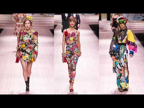 Dolce Gabbana Spring 2019 Ready-to-Wear