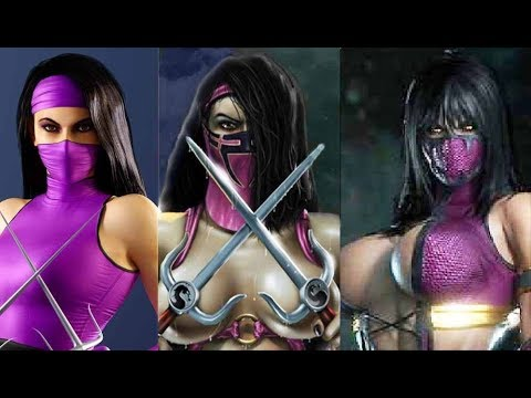 ALL MILEENA APPEARANCES COSTUMES EVOLUTION MK2 - MKX In-Game Mortal Kombat