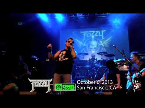 Fozzy - Live at DNA Lounge San Francisco, CA