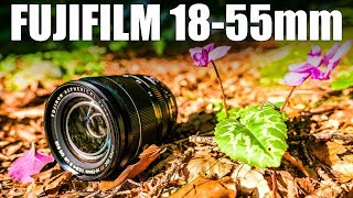 Gambar cover Fujifilm 18-55mm Lens Review - Fuji's AMAZING Kit lens