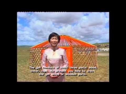 """""""Mongolian Yurt"""" documentary film - Монгол гэрийн тухай кино"""