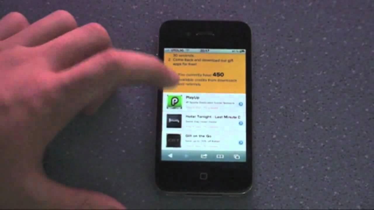 Где на айфон 4 приложения