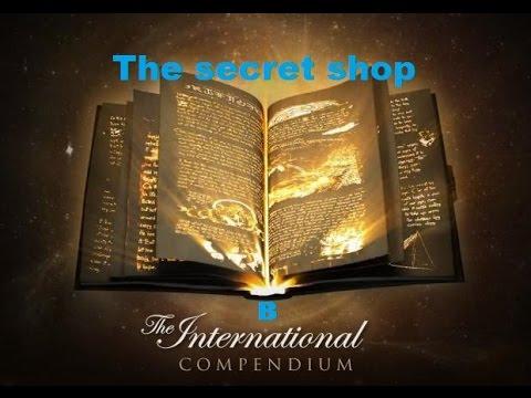 видео: Раздел the secret shop в the international compendium 2015