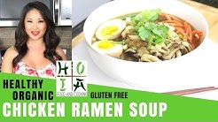 How to Make HEALTHY ORGANIC Gluten Free Chicken Ramen Soup | Recipe | Diane Yang Kirk | Ep 07