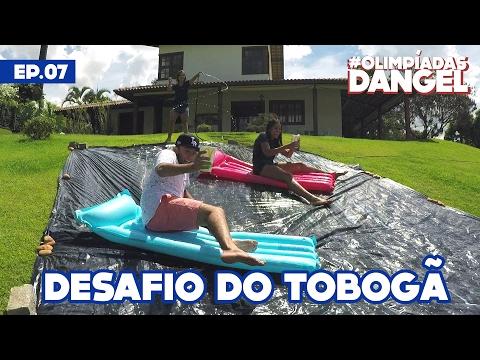 #OlimpíadasDangel - DESAFIO DO SUPER-TOBOGÃ | Episódio 07
