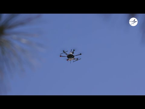 Drones Demonstrate Concepts for 5G.MIL Connectivity