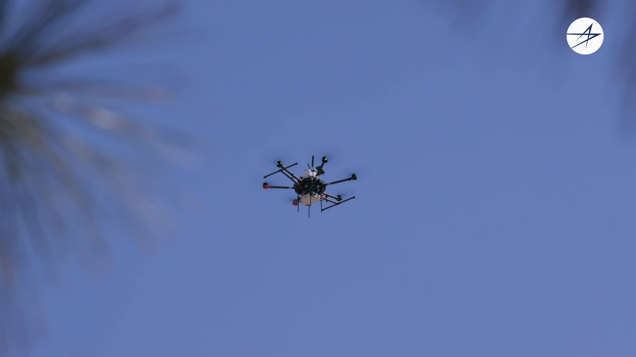 Drones Demonstrate Concepts for 5G.MIL™ Connectivity