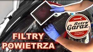 Filtry powietrza. Jak wymienić filtr i jak wyczyścić filtr sportowy. Retro Garaż #4