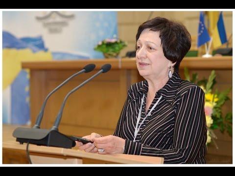 Prof. Tetyana Konstantinova (Ukraine) on NANO2014 conference, Nanotwinning project