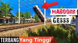 Apa Yang Terjadi Jika Rel Dibuat Seperti Track Motorcross | Trainz Simulator Indonesia