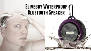 Elivebuy 5 Watt Driver Portable Waterproof Bluetooth 3.0 Speaker Rugged Wireless For Outdoor/Shower
