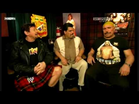 The Iron Sheik goes nuts on Hulk Hogan