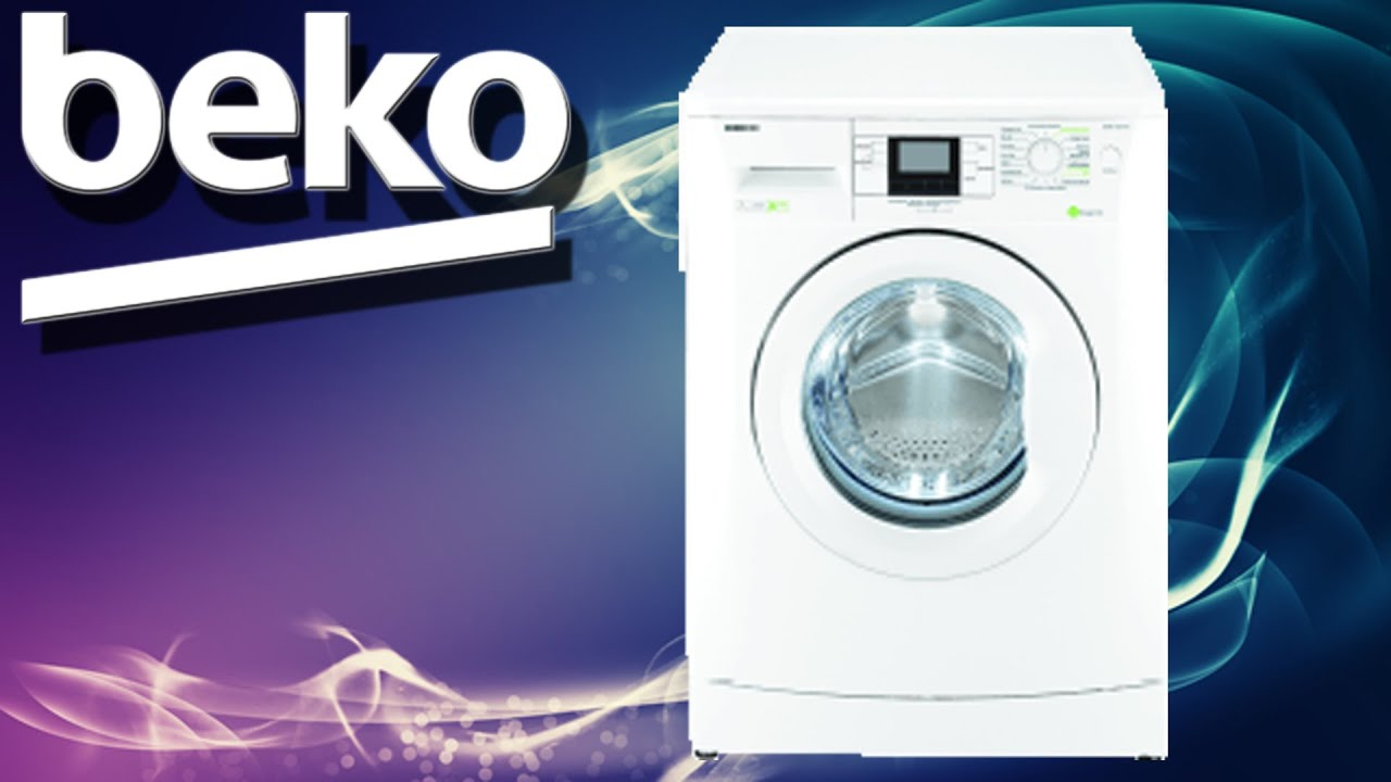 meine neue beko waschmaschine wmb 71643 pte a 7 kg 1600 u min youtube. Black Bedroom Furniture Sets. Home Design Ideas