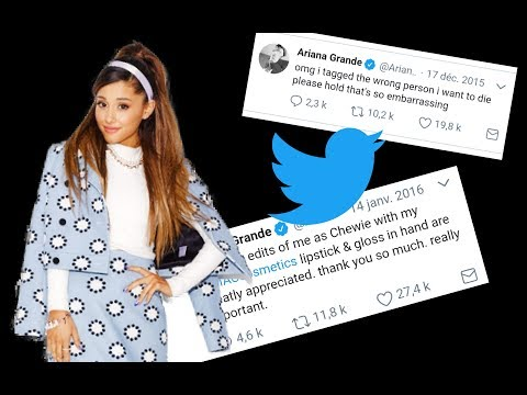 Ariana Grande's funniest tweets ! (Part 1)
