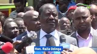 Hon Raila Odinga speech on Terrorism.