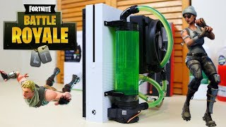 Fortnite On a Water Cooled XBOX One S!